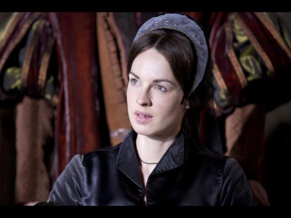 Jane Boleyn, Lady Rochford played by Jessica Raine in the BBC drama Wolf Hall.